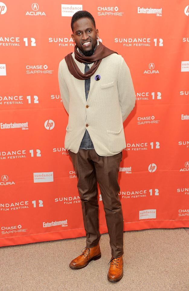 """PARK CITY, UT - JANUARY 23:  Actor Anwan Glover attends the """"LUV"""" premiere during the 2012 Sundance Film Festival held at Eccles Center Theatre on January 23, 2012 in Park City, Utah.  (Photo by Jemal Countess/Getty Images)"""