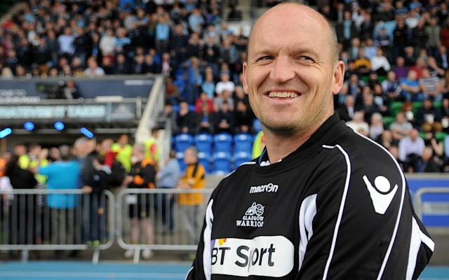 <span>This is Gregor Townsend's final season at Glasgow</span> <span>Credit: REX FEATURES </span>