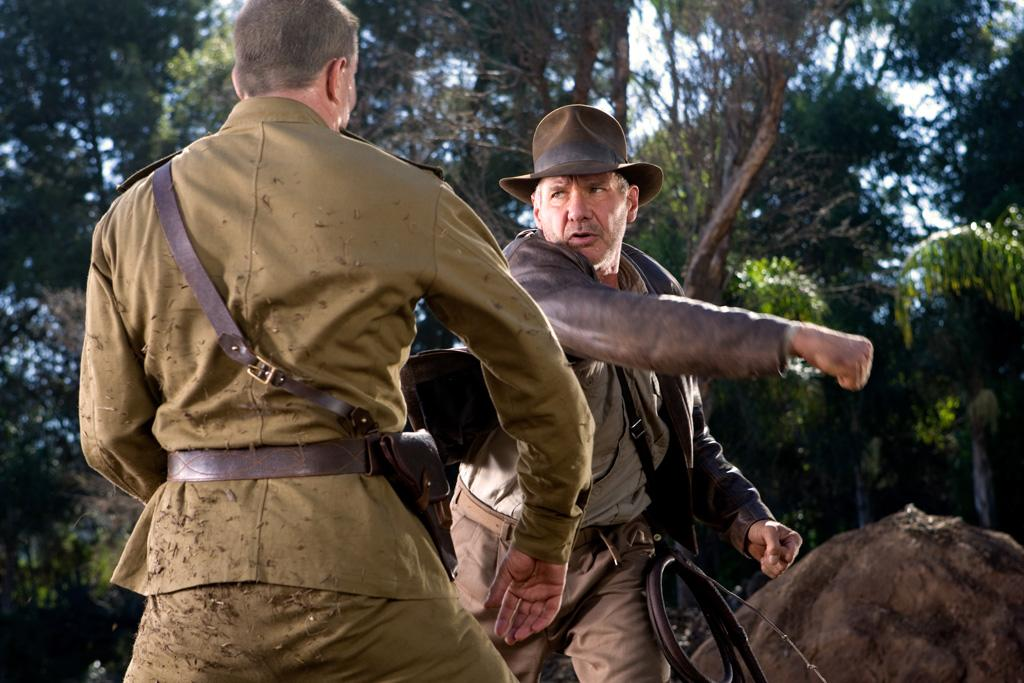 """3. <a href=""""http://movies.yahoo.com/movie/1808404510/info"""">INDIANA JONES AND THE KINGDOM OF THE CRYSTAL SKULL</a>  Total Gross: $317,023,851    Nearly twenty years after his last Crusade, Harrison Ford returned as everyone's favorite whip-cracking archaeologist to don the famed fedora once more, raiding a large trove of box office treasure but falling short of record-breaking expectations."""