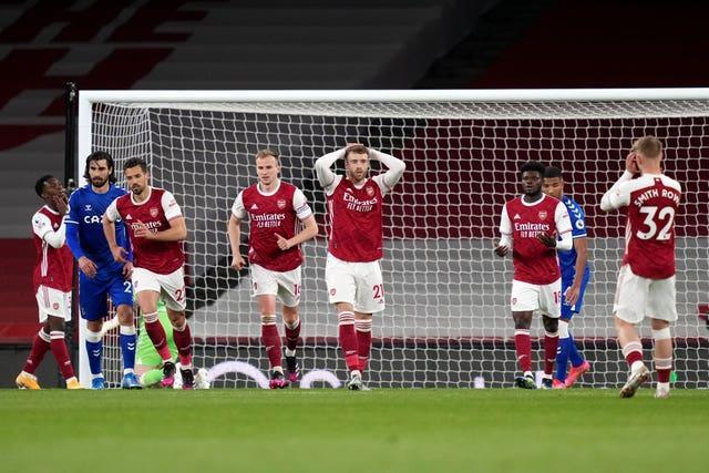 Arsenal v Everton – Premier League – Emirates Stadium