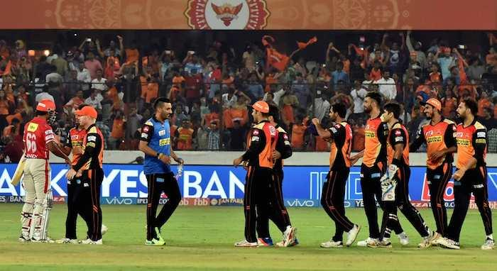 Warner, Kumar star in Hyderabad's thrilling win over Punjab