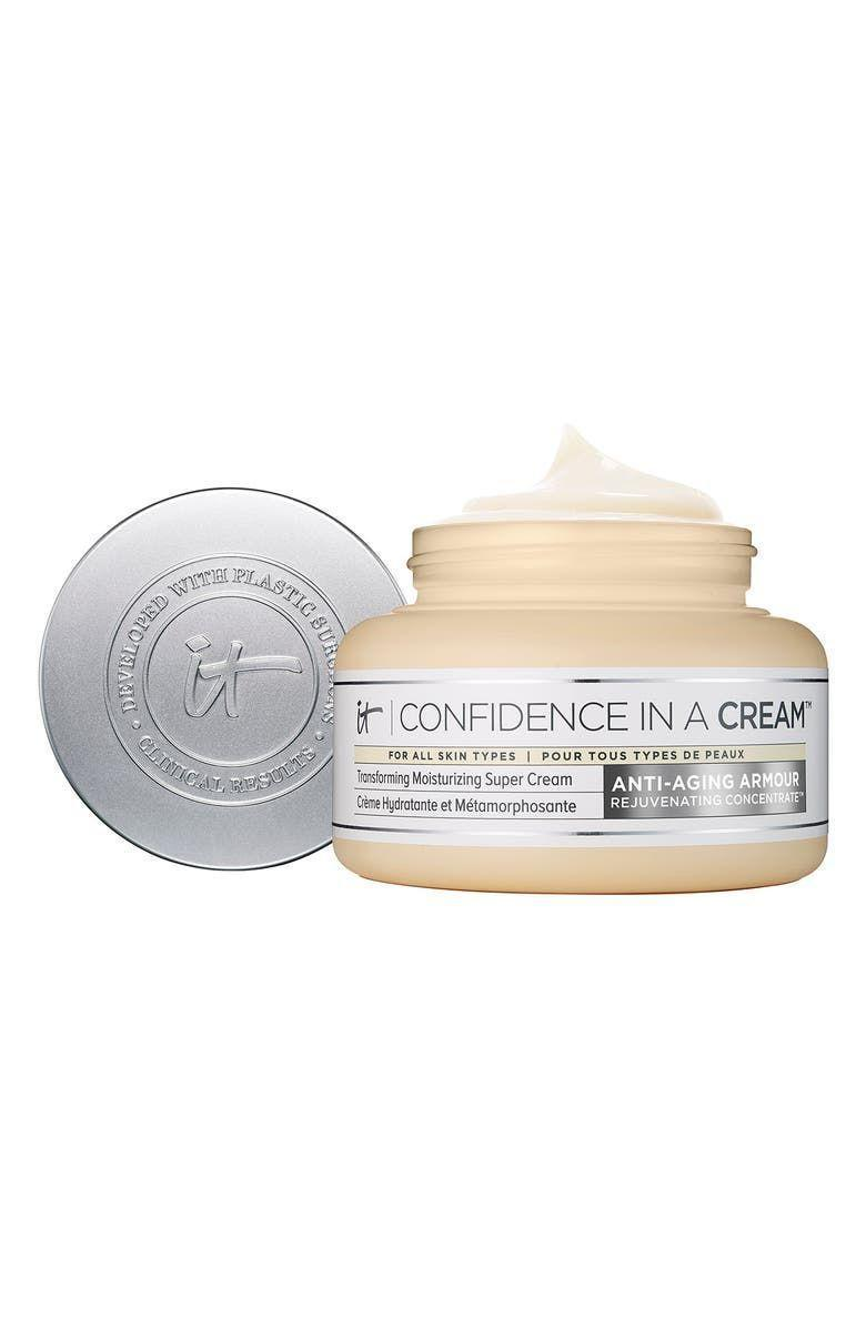 """<p><strong>It Cosmetics</strong></p><p>ulta.com</p><p><strong>$49.00</strong></p><p><a href=""""https://go.redirectingat.com?id=74968X1596630&url=https%3A%2F%2Fwww.ulta.com%2Fconfidence-in-a-cream-anti-aging-moisturizer%3FproductId%3DxlsImpprod13641053&sref=https%3A%2F%2Fwww.harpersbazaar.com%2Fbeauty%2Fskin-care%2Fg36492997%2Fbest-collagen-creams%2F"""" rel=""""nofollow noopener"""" target=""""_blank"""" data-ylk=""""slk:Shop Now"""" class=""""link rapid-noclick-resp"""">Shop Now</a></p><p>Ceramides, vitamin E, hyaluronic acid, squalane, collagen—name a powerhouse ingredient, it's probably in this moisturizer. But it's not all talk, no action; the best-seller firms, hydrates, and evens skin tone, plus it's suitable for most skin types.</p>"""