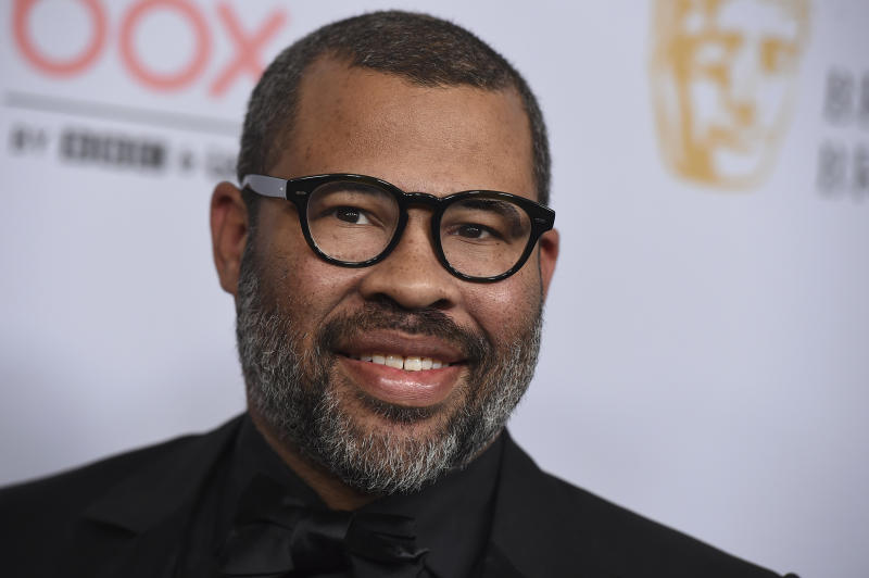 Jordan Peele arrives at the BAFTA Los Angeles Britannia Awards at the Beverly Hilton Hotel on Friday, Oct. 25, 2019, in Beverly Hills, Calif. (Photo by Jordan Strauss/Invision/AP)