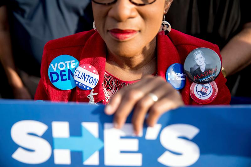 Hillary Clinton faced sexist attacks from Trump, and many people are worried that another female nominee would share the same fate. (Photo: Andrew Harnik/Associated Press)