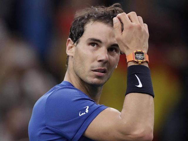 Nadal has had to be mindful of his injury (AFP)