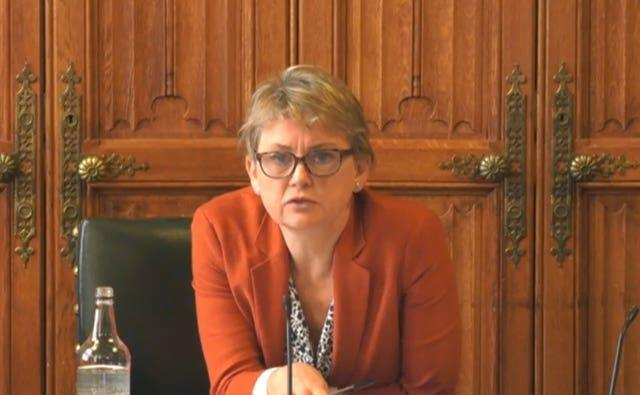 Yvette Cooper confronted social media over racist abuse which had remained online for weeks