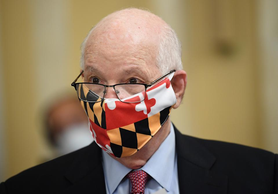 WASHINGTON, DC - JUNE 10: U.S. Senator Ben Cardin (D-MD) attends the Senate Small Business and Entrepreneurship Hearings to examine implementation of Title I of the CARES Act on Capitol Hill on June 10, 2020 in Washington, DC. (Photo by Kevin Dietsch - Pool/Getty Images)