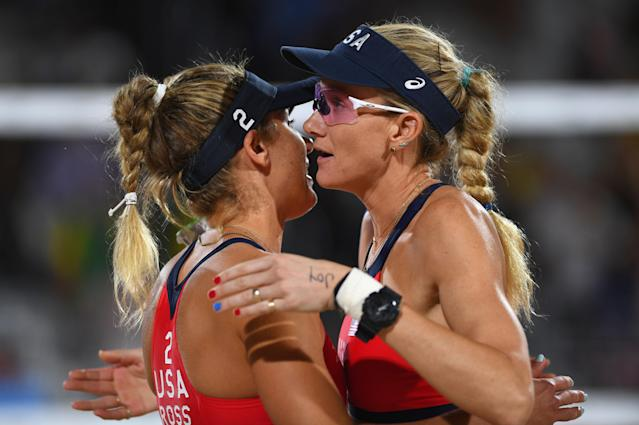 <p>The beach volleyball champion on sun-proofing her hair, pasta, and drugstore favorites.<span>​</span></p>