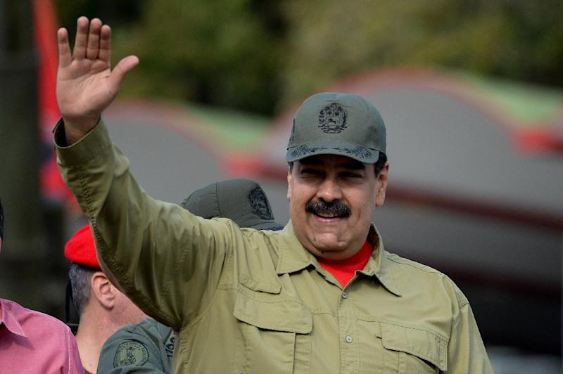 Venezuela's opposition says President Nicolas Maduro (pictured) has prepared a rigged snap election to deliver him a new mandate and tighten his hold over his economically devastated country (AFP Photo/FEDERICO PARRA)