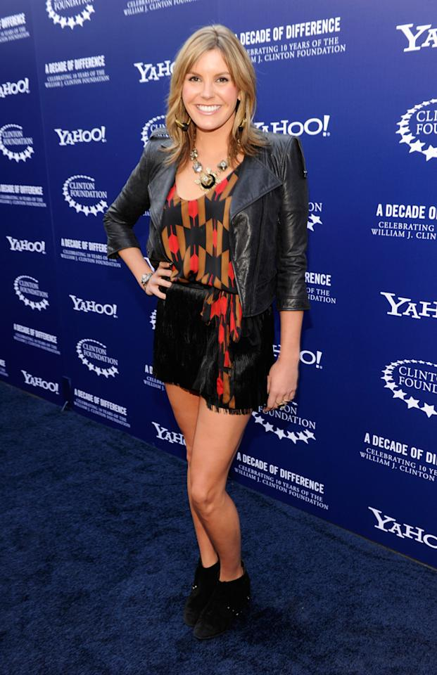 "Grace Potter arrives at the ""A Decade of Difference"" concert on October 15, 2011, at the Hollywood Bowl, Los Angeles. <br><br>(Photo by Kevin Mazur/Getty Images for Control Room)"