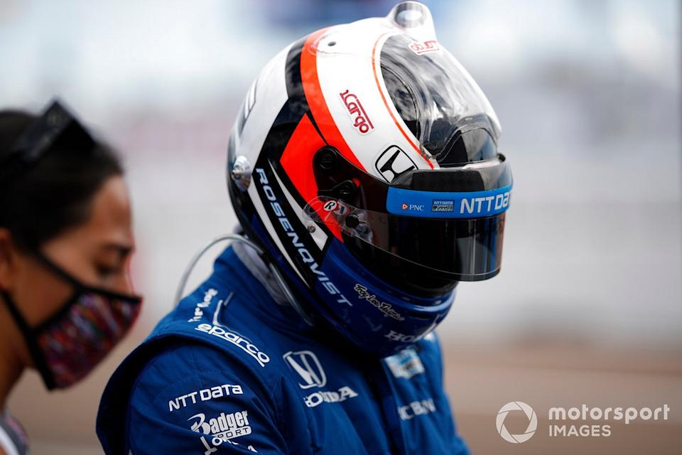 "Felix Rosenqvist, Chip Ganassi Racing Honda<span class=""copyright"">Michael L. Levitt LAT Photo USA</span>"
