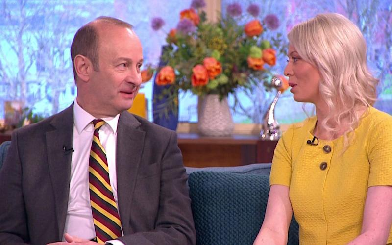 Henry Bolton and Jo Marney appear on This Morning - ITV supplied by Pixel8000