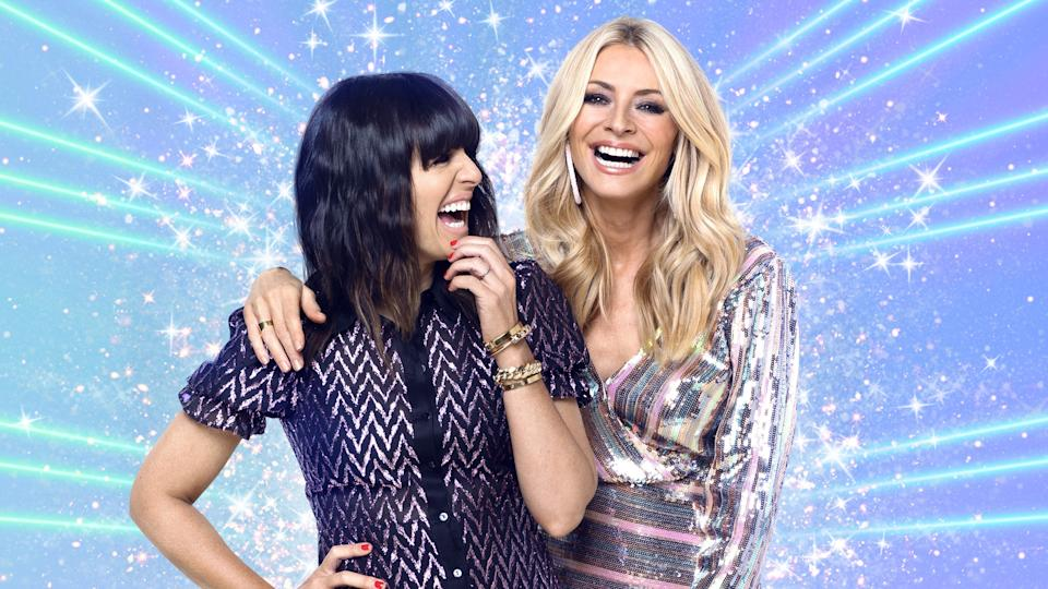 Hosts Claudia Winkleman and Tess Daly welcome back a studio audience. (BBC)