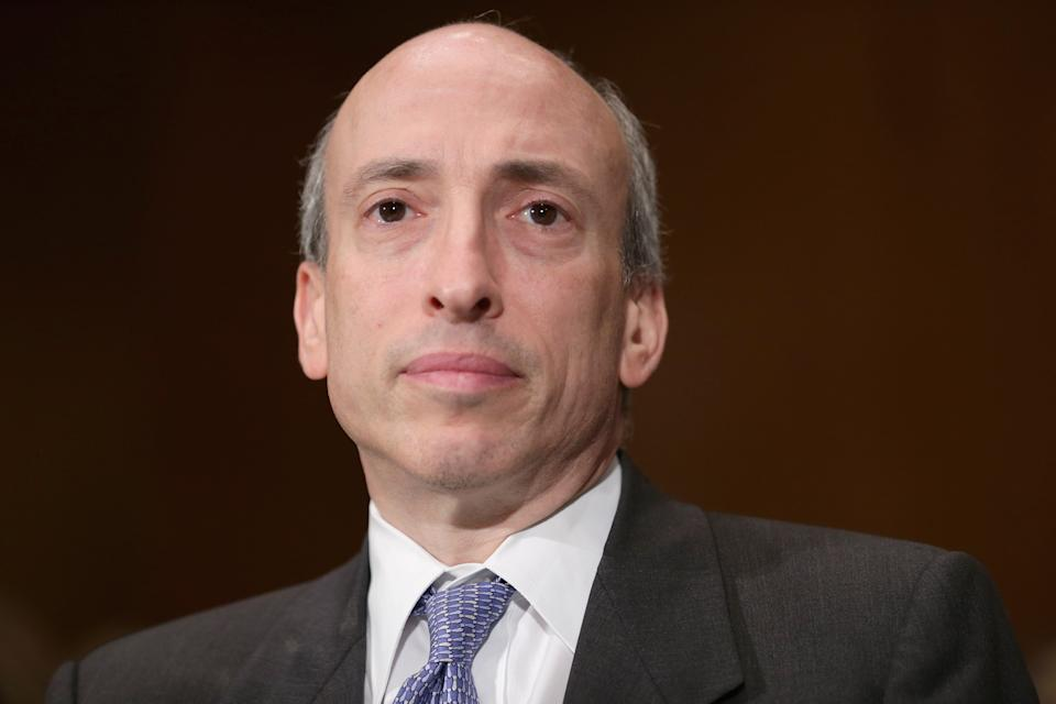 Gary Gensler, chairman of US Securities and Exchange Commission. Photo: Chip Somodevilla/Getty Images