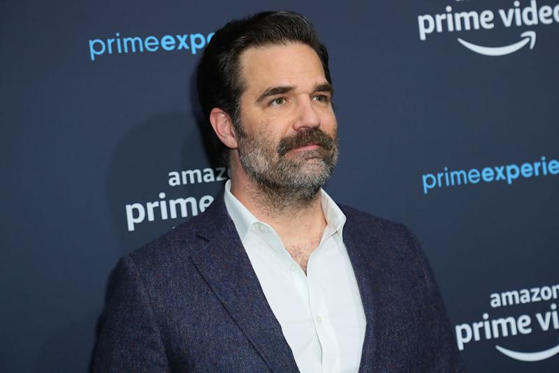 Rob Delaney has opened up about the treatment his family received by the NHS after his late son was diagnosed with a brain tumour [Photo: Getty]