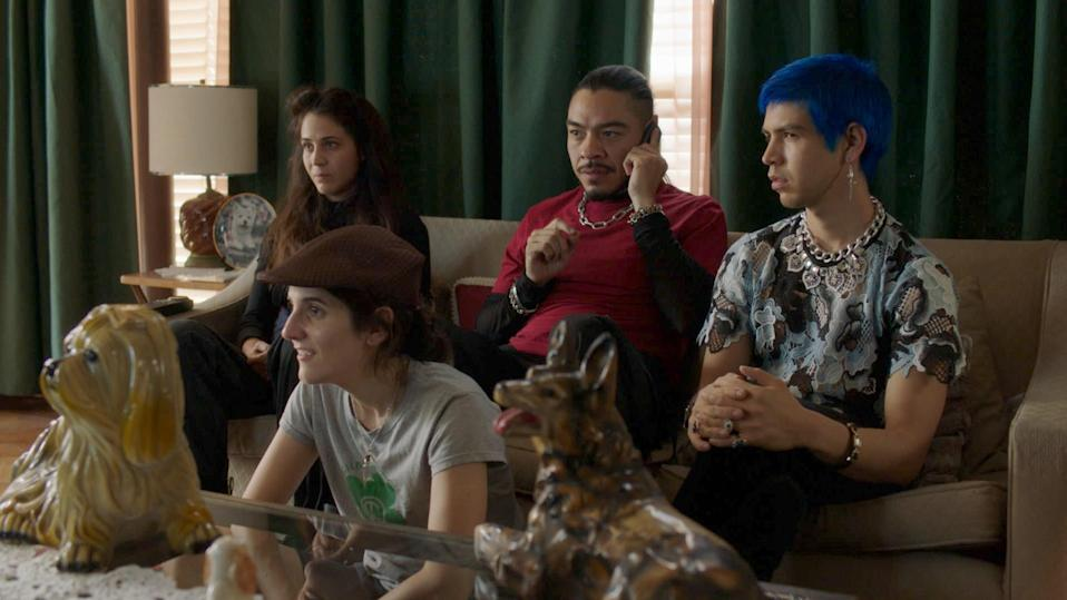"This Spanish-language series, cocreated by Fred Armisen, has a delightfully bonkers premise. Per <a href=""https://www.hbo.com/los-espookys"" rel=""nofollow noopener"" target=""_blank"" data-ylk=""slk:HBO"" class=""link rapid-noclick-resp"">HBO</a>, it follows ""a group of friends who turn their love for horror into a peculiar business, providing horror to those who need it."""