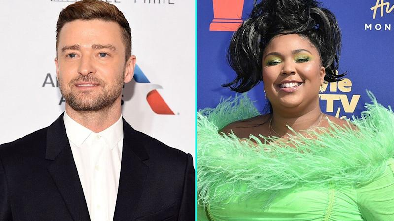 Justin Timberlake Hits the Studio With Lizzo -- Is a Collab on the Way?