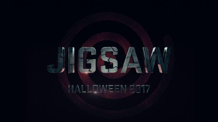 Jigsaw Title Treatment