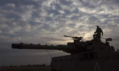 Israel Readies Forces For Gaza Border Assault