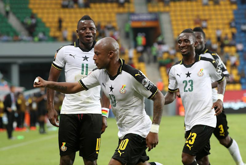 Ayew hails team-mates after victory over Ethiopia in Afcon qualifier