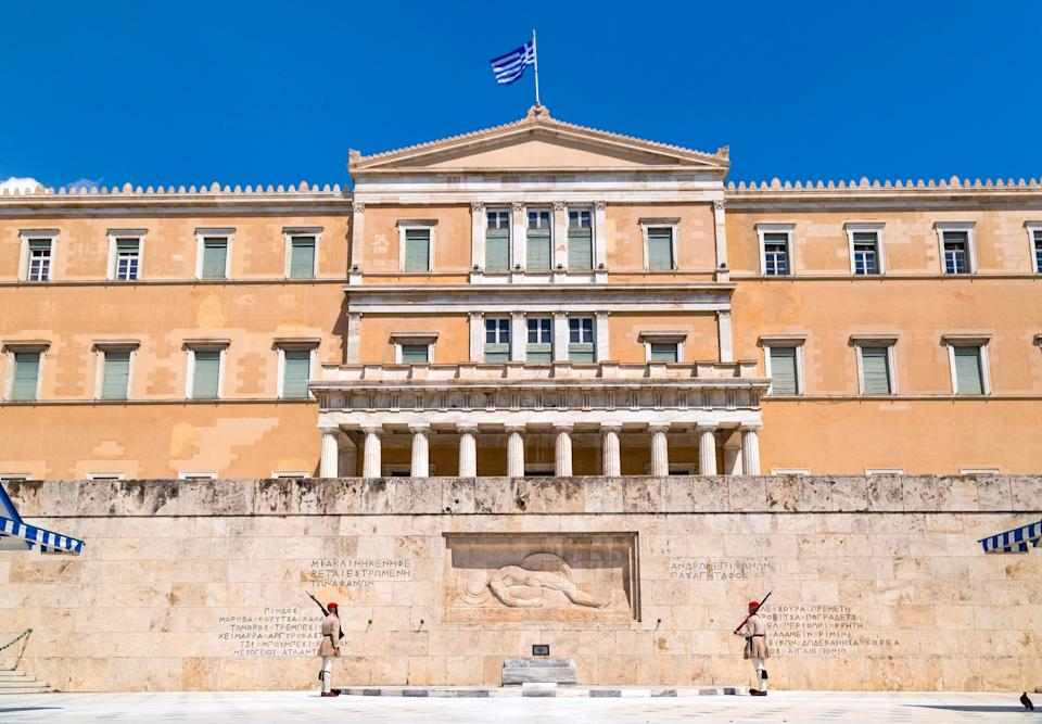 Syntagma, Athens - getty