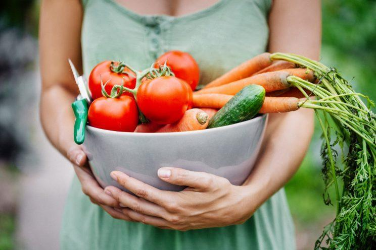 <i>Turning vegetarian could help the environment a lot more than you think [Photo: Getty]</i>