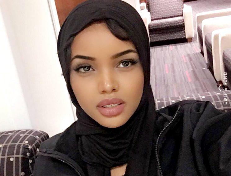 Muslim woman wears hijab, burkini in Minnesota pageant