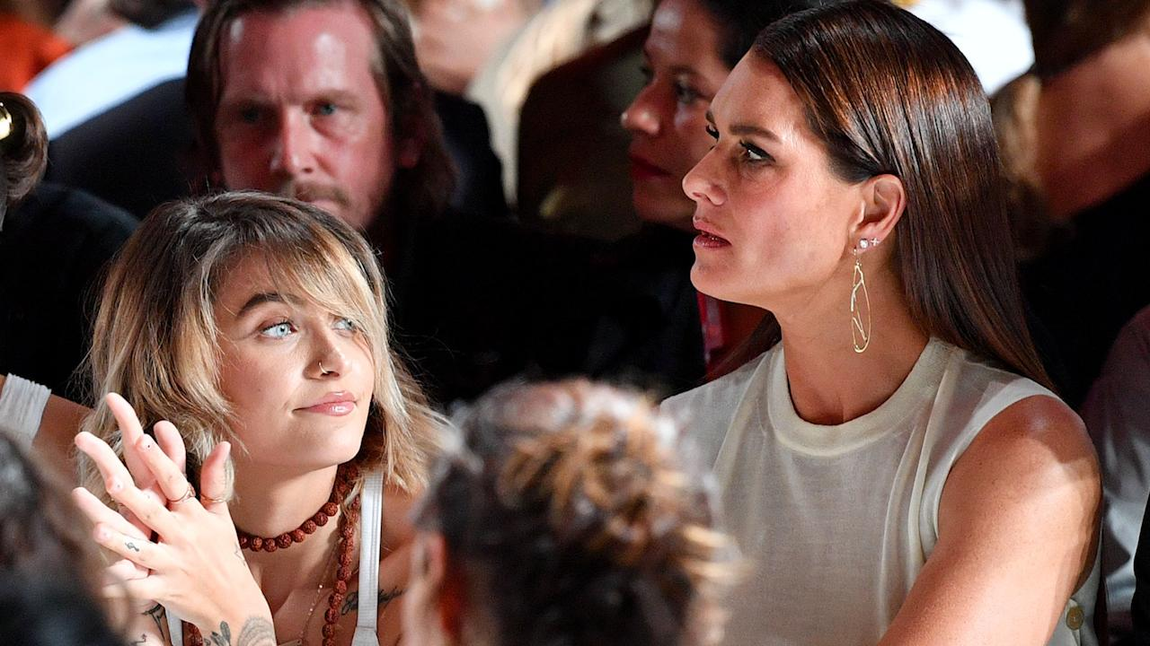Brooke Shields talks about he touching reunion with Paris Jackson at New York Fashion Week and her last contact with Michael before he died.