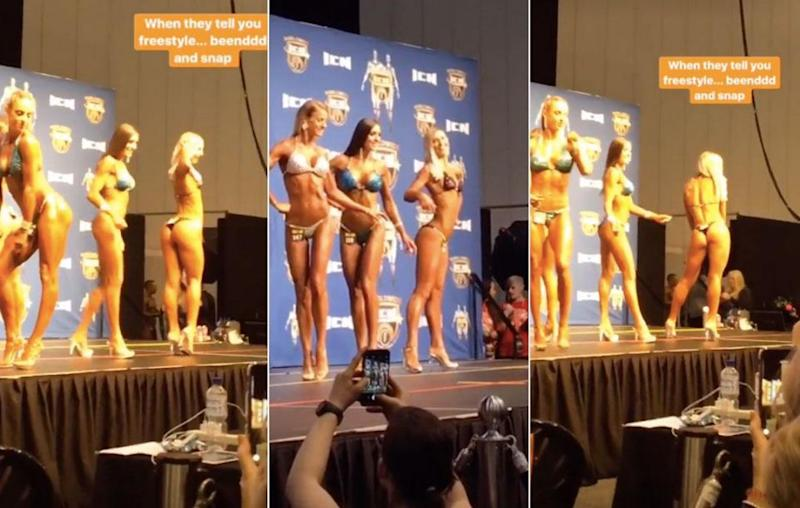 tony abbott daughter bodybuilding