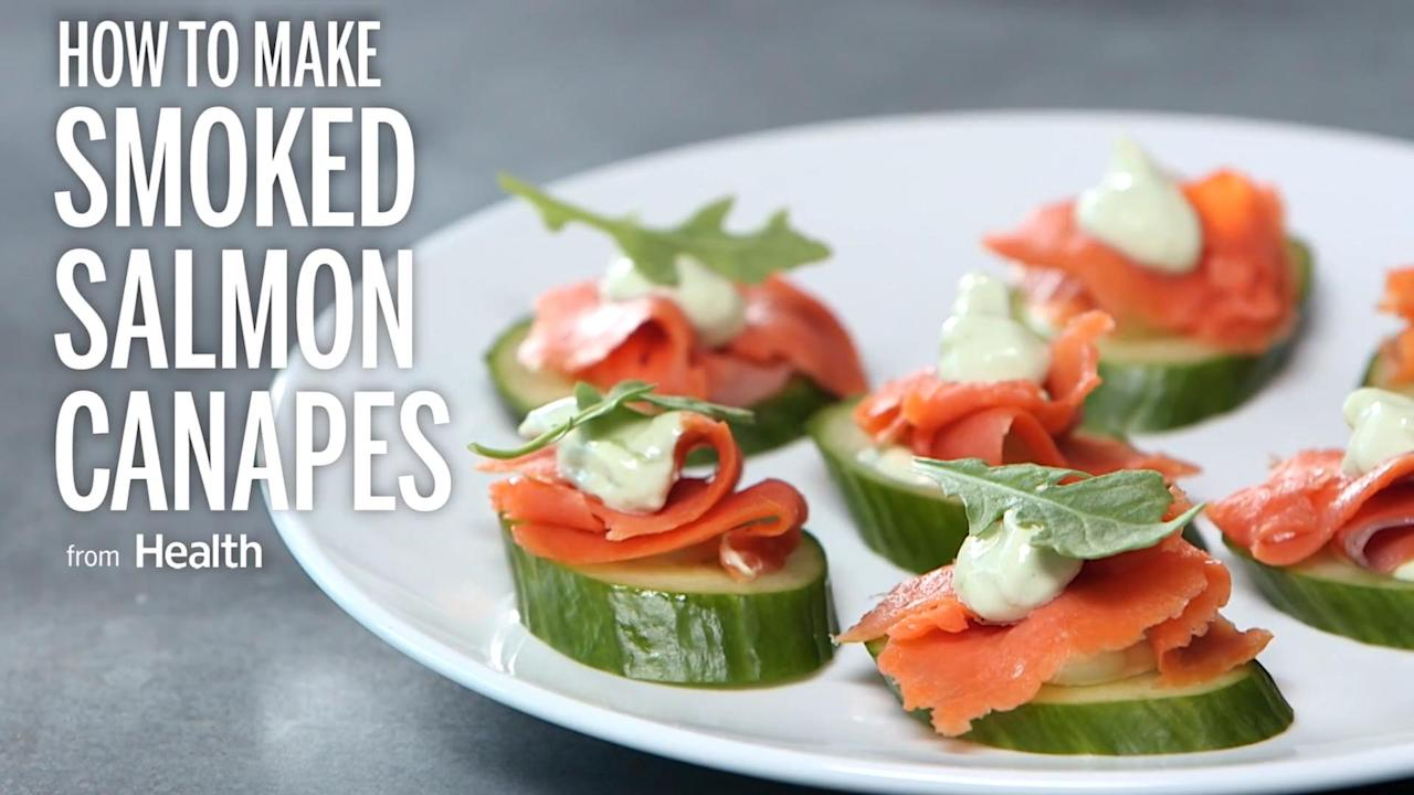 Watch this video to see how to make these healthy bites.