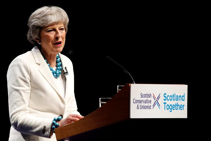 Prime Minister Theresa May is facing pressure to announce her departure (REUTERS)