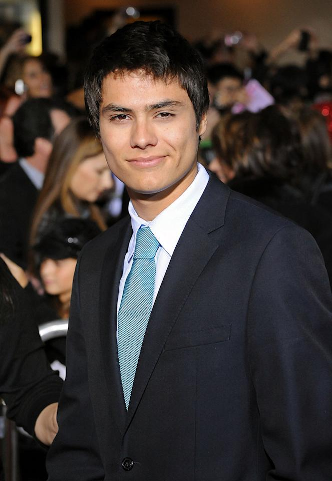 "<a href=""http://movies.yahoo.com/movie/contributor/1810080648"">Kiowa Gordon</a> at the Los Angeles premiere of <a href=""http://movies.yahoo.com/movie/1810055802/info"">The Twilight Saga: New Moon</a> - 11/16/2009"