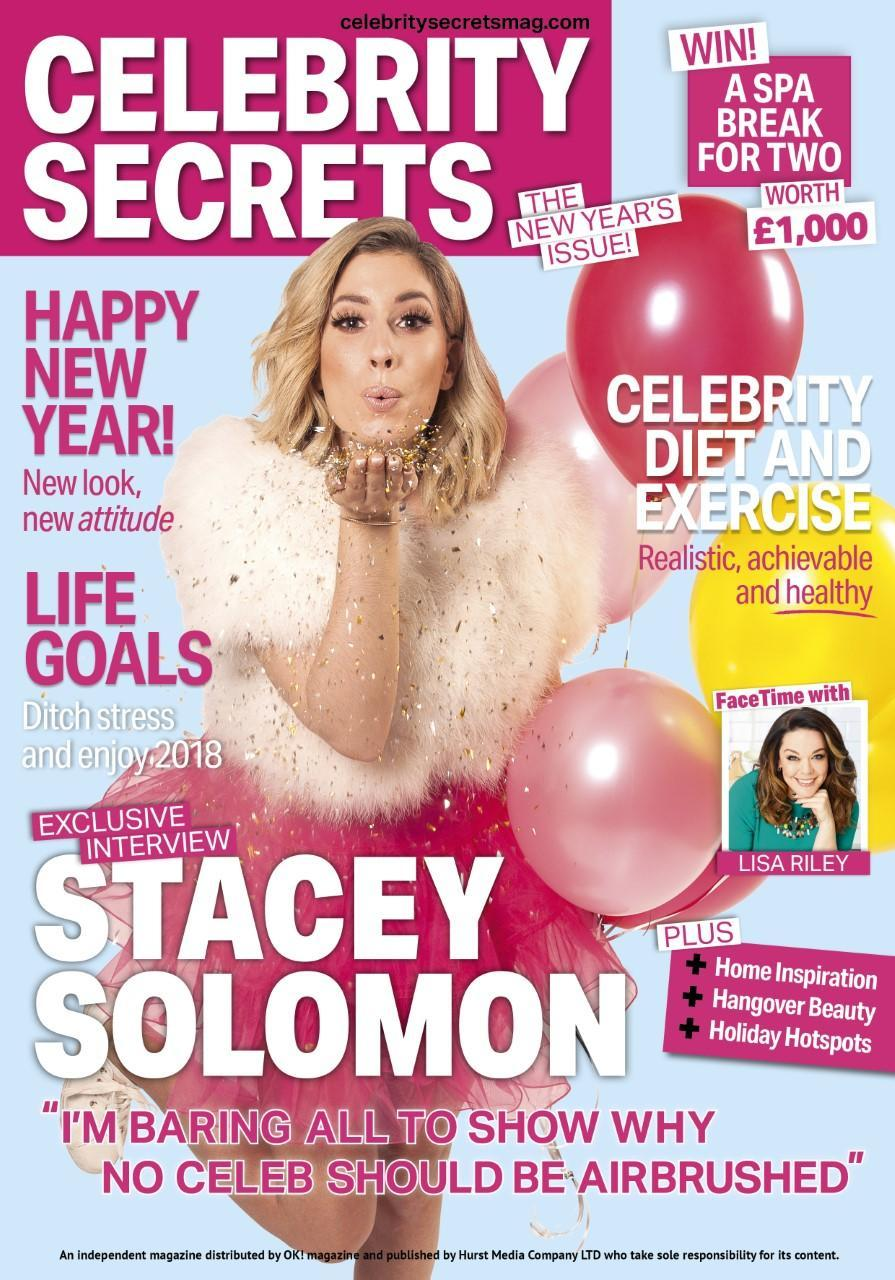 You can catch Stacey's full shoot and interview in Celebrity Secrets.
