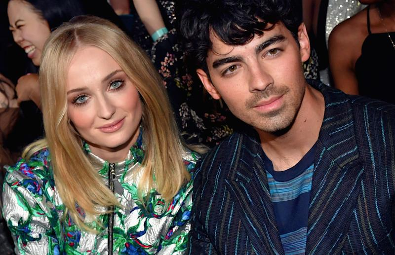 Sophie Turner and Joe Jonas at the 2019 Billboard Music Awards right before they got married. (Photo: Jeff Kravitz via Getty Images)