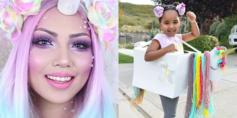 How To Diy The Cutest Unicorn Halloween Costume This Year