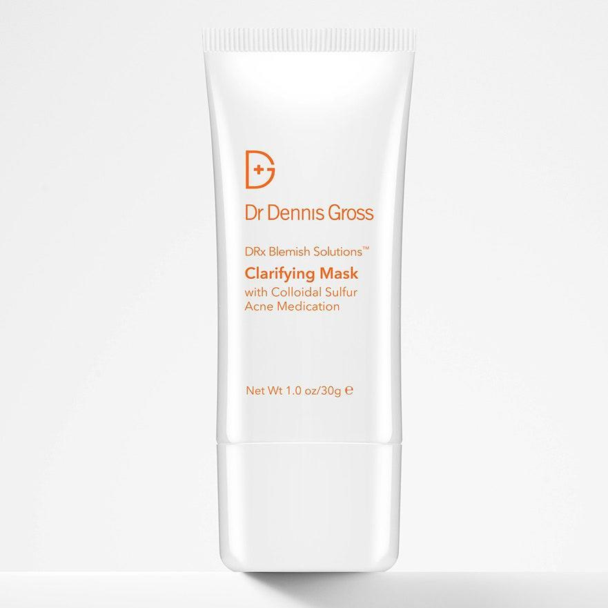"""<p>Part of Dr. Dennis Gross's DRx Blemish Solutions collection, the Clarifying Mask With Colloidal Sulfur relies on some of the least-drying acne-fighting ingredients — <a href=""""https://www.allure.com/story/how-to-treat-cystic-acne?mbid=synd_yahoo_rss"""" rel=""""nofollow noopener"""" target=""""_blank"""" data-ylk=""""slk:colloidal sulfur"""" class=""""link rapid-noclick-resp"""">colloidal sulfur</a>, bentonite clay, and kaolin clay, to be specific — to help clear up breakouts. Worn overnight, it makes a noticeable difference on the angriest blemishes without causing any additional irritation. In fact, your skin will even feel soothed come morning.</p> <p><strong>$28</strong> (<a href=""""https://shop-links.co/1701774457669680083"""" rel=""""nofollow noopener"""" target=""""_blank"""" data-ylk=""""slk:Shop Now"""" class=""""link rapid-noclick-resp"""">Shop Now</a>)</p>"""