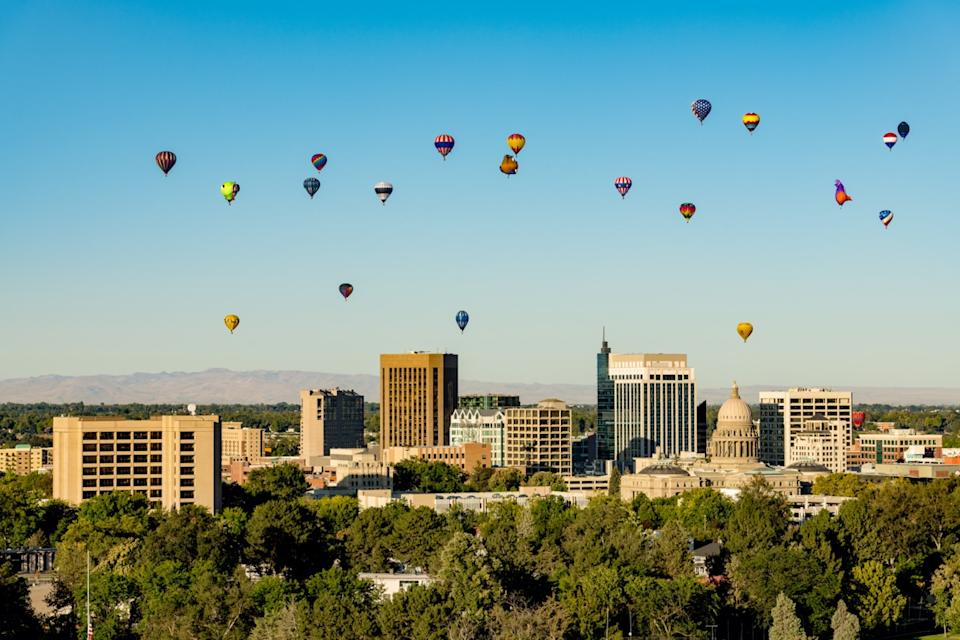 cityscape photo of Boise, Idaho in the afternoon