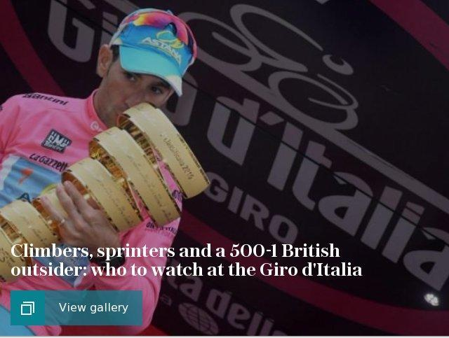 Giro d'Italia: Climbers, sprinters and a 500-1 British outsider