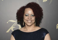 """FILE - In this Saturday, May 21, 2016, file photo, Nikole Hannah-Jones attends the 75th Annual Peabody Awards Ceremony at Cipriani Wall Street in New York. Proposals in Arkansas, Iowa and Mississippi would prohibit schools from using the New York Times' """"1619 Project,"""" that focused on slavery's legacy. Hannah-Jones, who won a Pulitzer Prize for the lead essay in the project, called it a work of journalism that wasn't intended to replace what's being taught in schools. (Photo by Evan Agostini/Invision/AP, File)"""