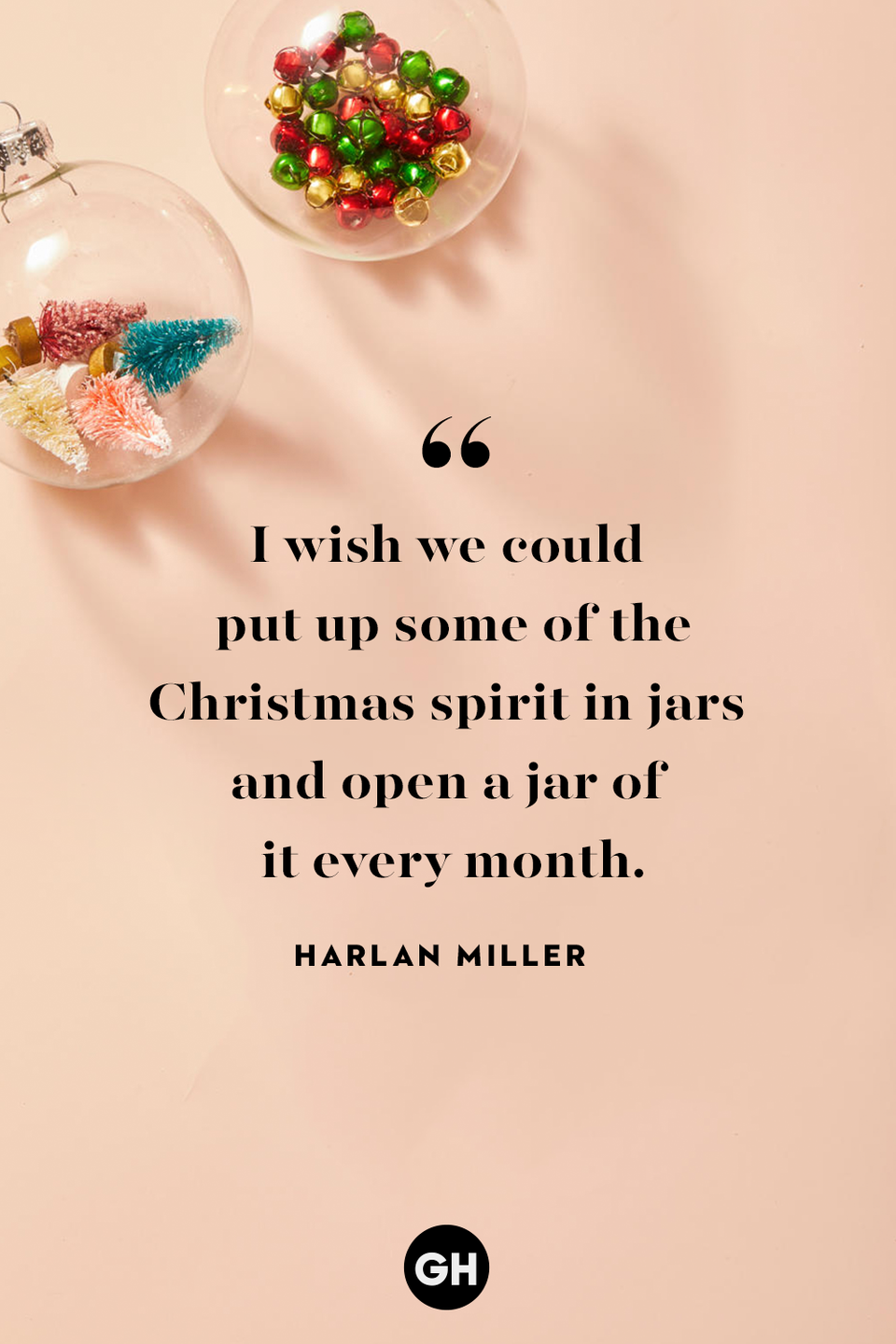 <p>I wish we could put up some of the Christmas spirit in jars and open a jar of it every month. </p>