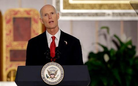 Florida governor Rick Scott - Credit: Lynne Sladky /AP