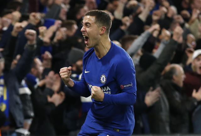 Chelsea's Eden Hazard has scored four goals and assisted another in just his last five games.