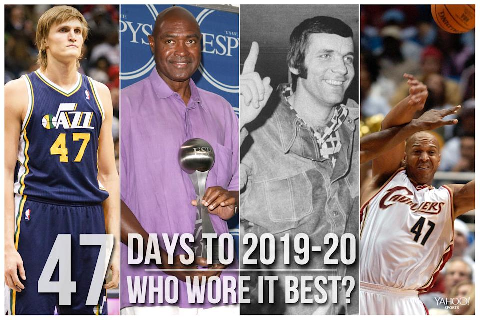 Which NBA player wore No. 47 best?