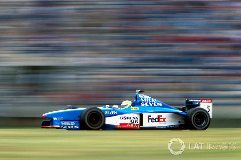 "80: Giancarlo Fisichella, Benetton Playlife B198<span class=""copyright"">Sutton Motorsport Images</span>"