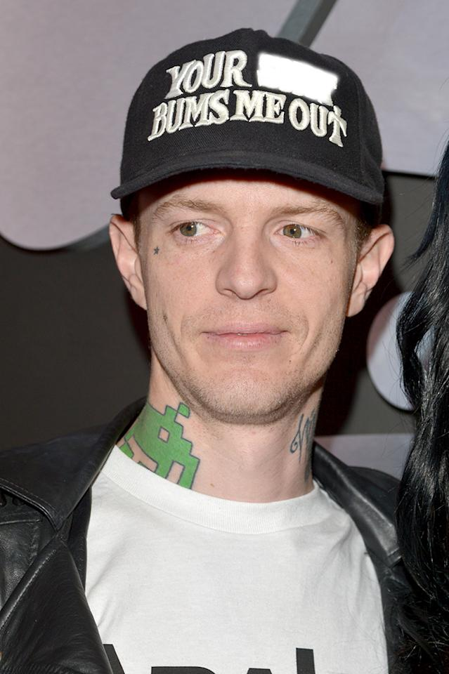 Deadmau5 attends the 55th Annual GRAMMY Awards at STAPLES Center on February 10, 2013 in Los Angeles, California.  (Photo by Lester Cohen/WireImage)
