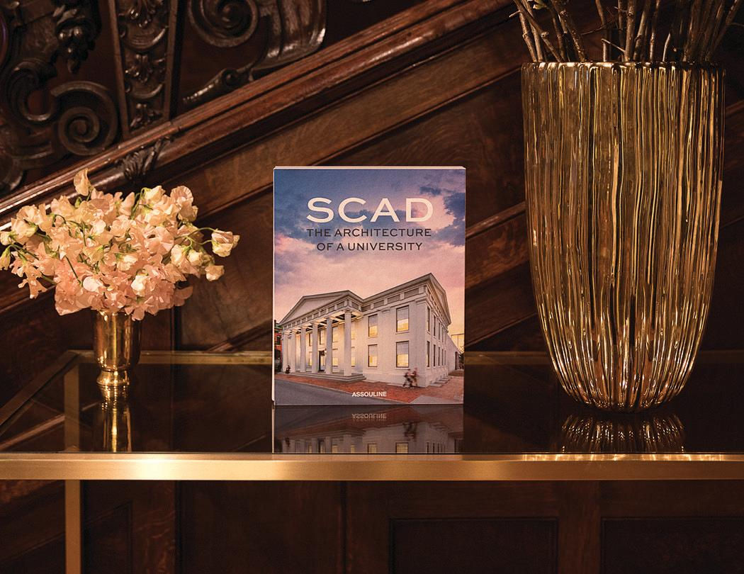 """<p>The Savannah College of Art and Design and Cooper Hewitt, Smithsonian Design Museum celebrated the launch of SCAD: The Architecture of a University, a book commemorating 40 years of rich history. This exquisite volume reveals the resplendent design and perennial charm of the university's environment and architectural treasures. #scadbook</p><p><a rel=""""nofollow"""" href=""""http://www.scad.edu/book"""">SCAD.EDU/BOOK</a></p>"""