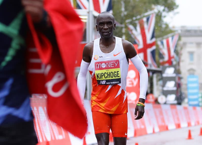 First crack appears in Kipchoge's armour of invincibility