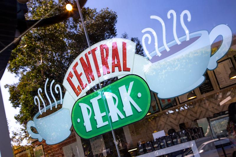 The famous Central Perk coffee shop