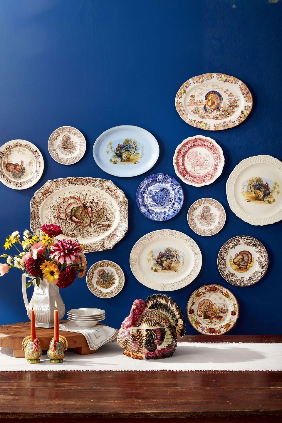 <p>Turkeys have graced dinnerware since the late 1800s and these stunning platters make the perfect backdrop for your Thanksgiving feast. Gobble, gobble. </p>