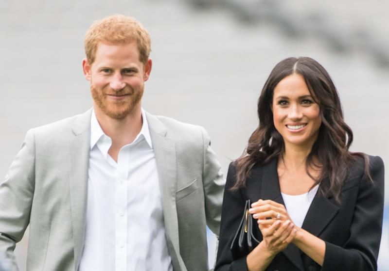 New doccie shows rare behind-the-scenes glimpse from Meghan's royal wedding